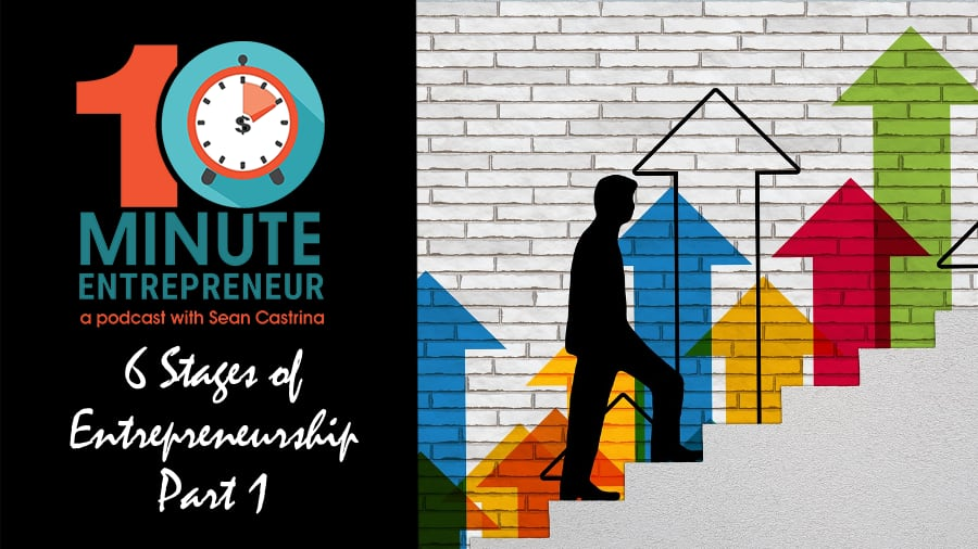 Ep 319: 6 Stages of Entrepreneurship (Part 1)